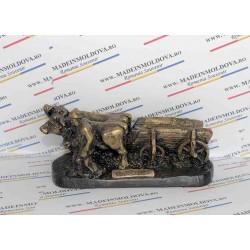 Statueta carul cu boi
