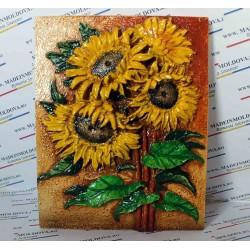 Floare soarelui colorata