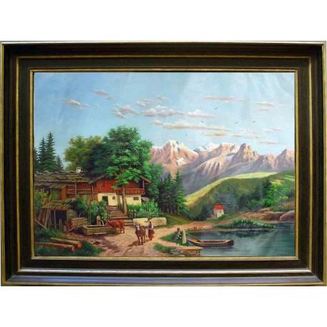 Peisaj din Alpi