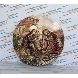 Medalion Sfanta Familie